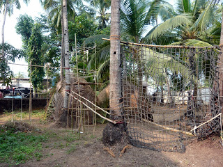 Детский сад в Гоа Зернышко - бамбуковая площадка