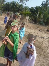 Зернышко: колядки в Гоа