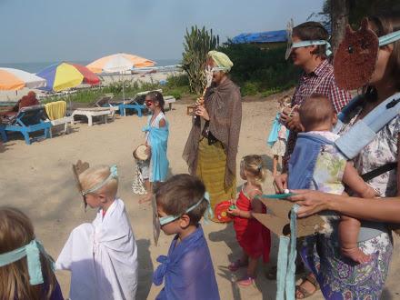 Детские праздник в Гоа - Колядки в Зернышке