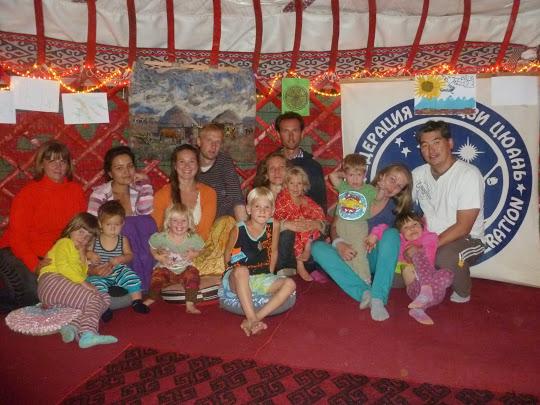 семейный лагерь на Иссык-куле, Киргизия