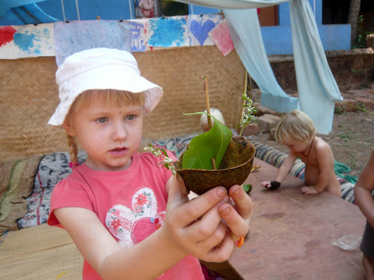 творческие занятия в школе - Гоа, Арамболь