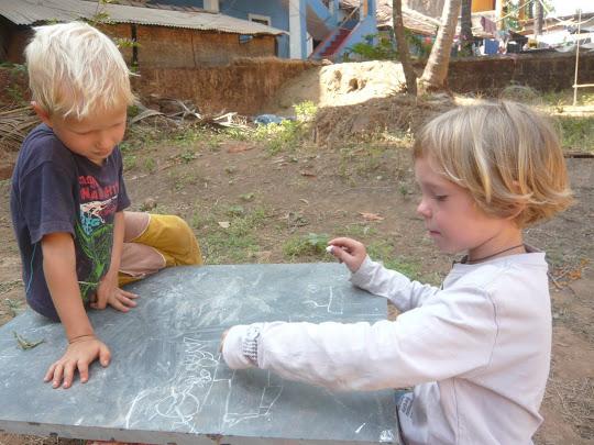 групповые проекты в начальной школе, Гоа, Арамболь