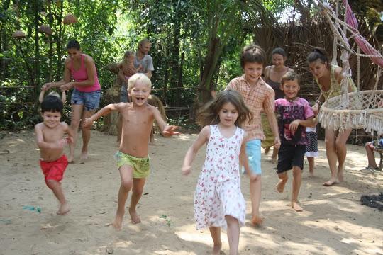 детский праздник в Гоа