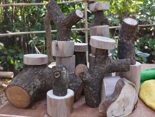 вальдофский детский сад в Гоа - игры