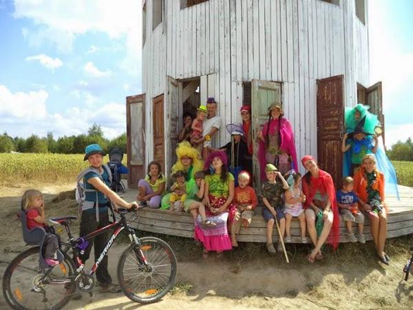 Семейный лагерь в Никола-Ленивце, август 2014