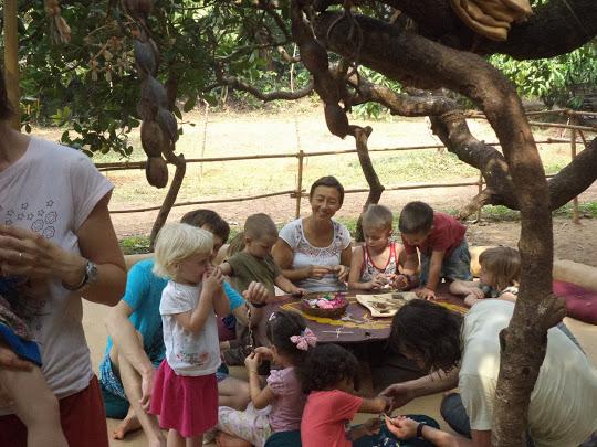 Вальдорфский детский сад зарубежом