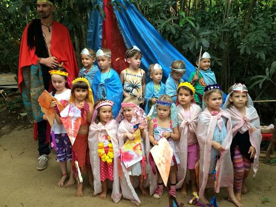 детский сад и дошкольники в северном Гоа, Арамболь, Мандрем
