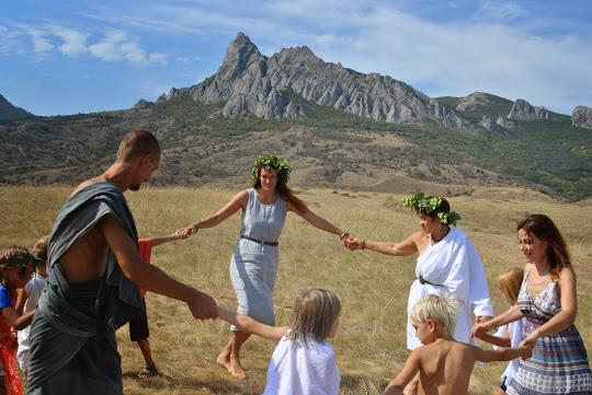 Семейный лагерь в Крыму 2015