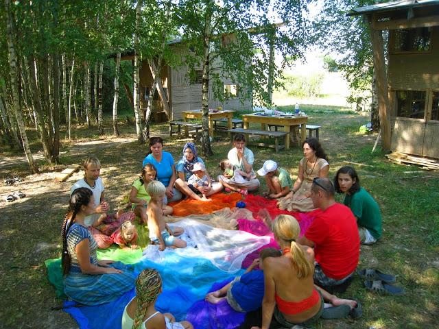 Семейный лагерь Крым