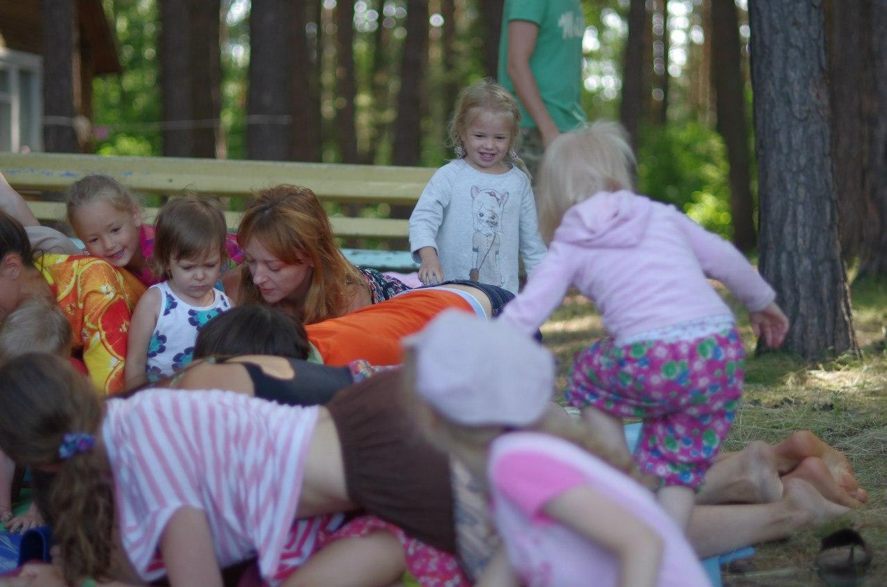 Семейный лагерь Во лузях, Новосибирск, июль 2015