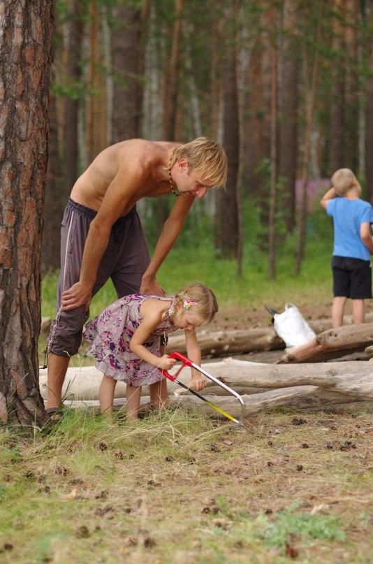 Семейный лагерь Обское море