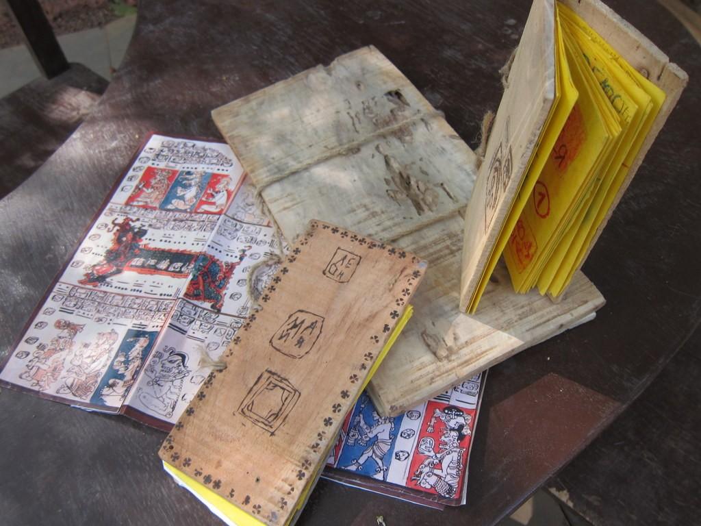 Кодексы майя в школе