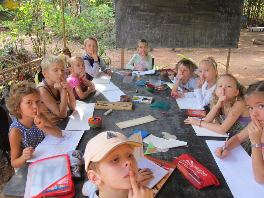 Школьный лагерь: маленький отчет